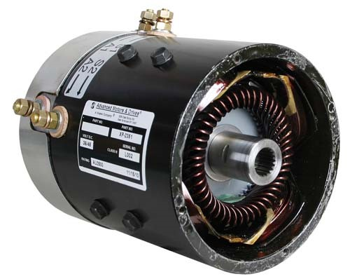 36 volt 4-hp@4400 rpm high speed series motor for EZGO Image