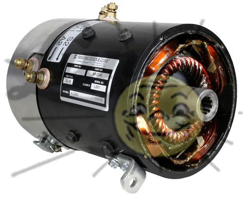 36/48 volt series motor for Club Car DS high speed & torque Image