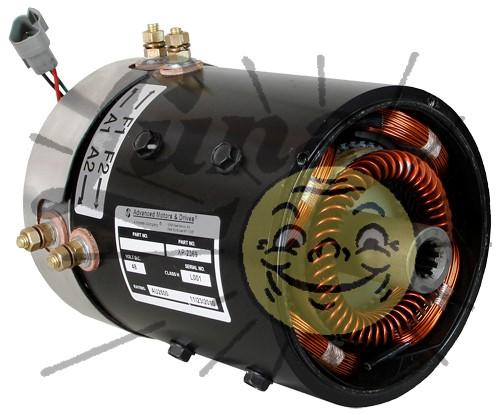 Rebuilt motor for Club Car IQ, speed & torque Image