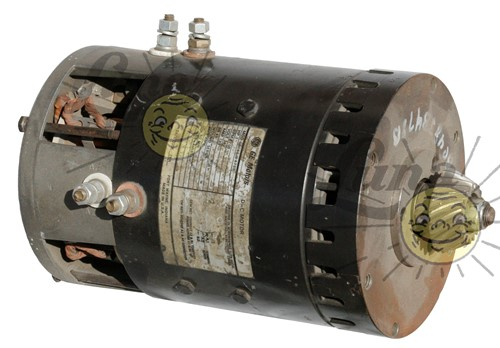 Rebuilt series motor for Yale, 24 V, 3hp Image