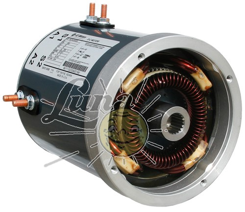 Rebuilt series motor for EZGo Image
