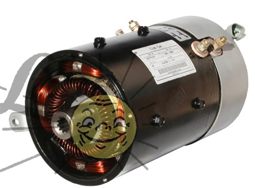 Rebuilt IQ motor for industrial Club Car with Curtis 1268 controller Image