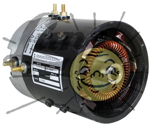Rebuilt 36 volt AMD motor for EZGo Image
