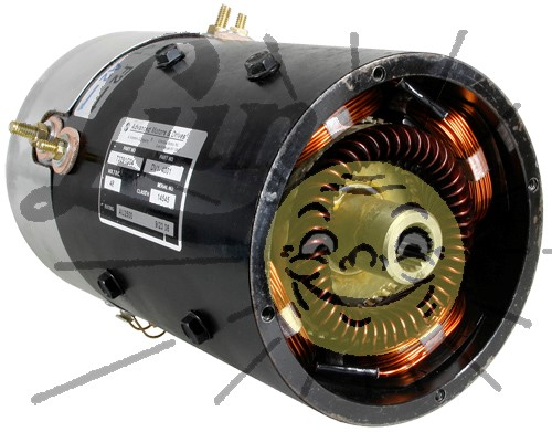 48 Volt motor for EZGO PDS PLUS Image